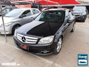 MERCEDES-BENZ C 200 1.8 KOMPRESSOR TOURING AVANTGARDE Preto 2010