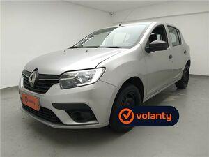 Renault Sandero 1.0 12V SCE Life Prata 2021