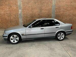 BMW 325i 2.5 24V Prata 1994