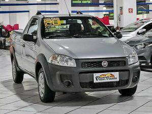 Fiat Strada CE 1.4 Hard Working Cinza 2020