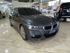BMW 335i 3.0 M Sport Cinza 2014