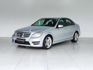 Mercedes-benz C 180 1.8 CGI Turbo Prata 2013