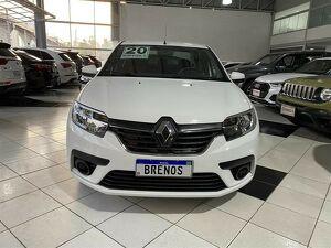 Renault Logan 1.6 16V SCE ZEN Branco 2020