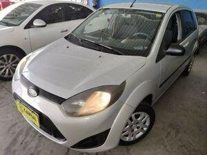 Ford Fiesta 1.0 8V Prata 2012