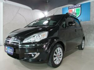 Fiat Idea 1.4 Attractive 8V Preto 2014