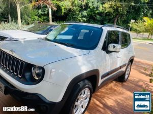 JEEP RENEGADE 1.8 LONGITUDE Branco 2016