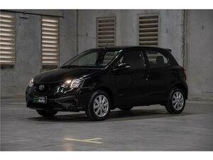 Toyota Etios 1.5 X Preto 2019