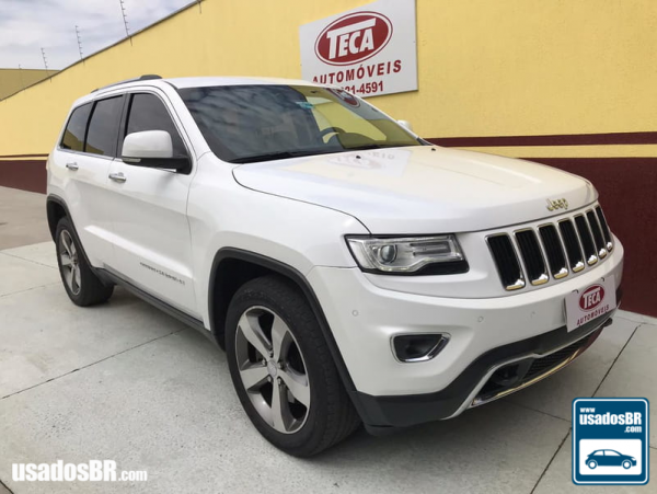JEEP GRAND CHEROKEE 3.0 LIMITED V6 Branco 2015