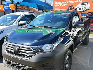 Fiat Strada CS 1.4 Endurance Preto 2021