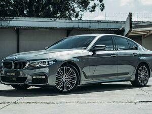 BMW 530i 2.0 M Sport Turbo Cinza 2019