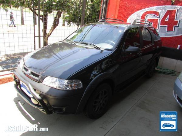 FIAT PALIO WEEKEND 1.6 ADVENTURE Verde 2002