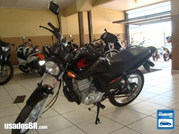 Foto do veiculo Honda CG 125 Fan 125cc ES Preto 2011