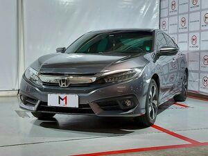 Honda Civic 1.5 Touring Turbo Cinza 2017