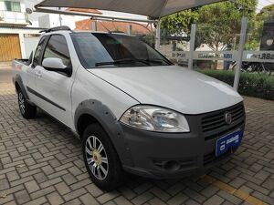 FIAT STRADA CE 1.4 WORKING Branco 2013