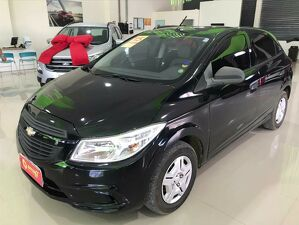 Chevrolet Onix 1.0 LS 8V Preto 2015