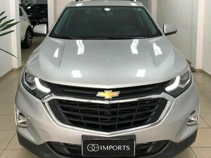 CHEVROLET EQUINOX 2.0 LT 16V TURBO Prata 2018
