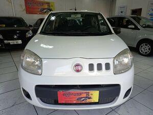 Fiat Uno 1.0 Evo Vivace 8V Branco 2014
