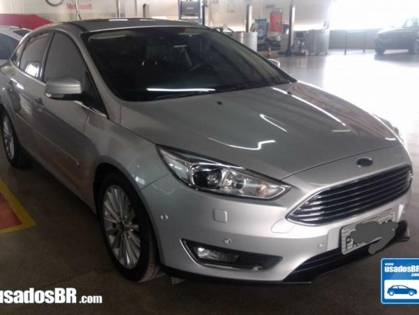 FORD FOCUS 2.0 SE PLUS FASTBACK Prata 2016