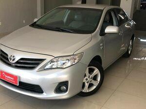 Toyota Corolla 1.8 GLI Prata 2012