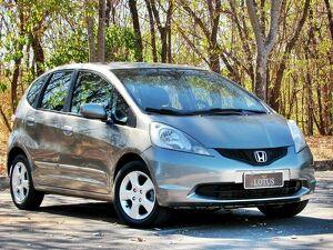 Honda FIT 1.4 LX Preto 2011