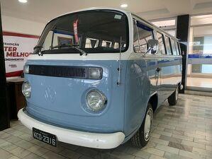 Volkswagen Kombi 1.6 STD Lotação Azul 1988