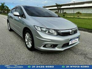 Honda Civic 2.0 LXR Prata 2014