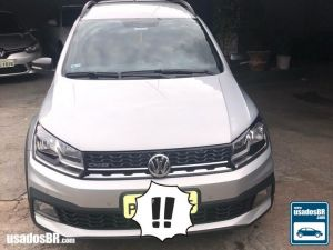 VOLKSWAGEN SAVEIRO CD 1.6 CROSS Prata 2019
