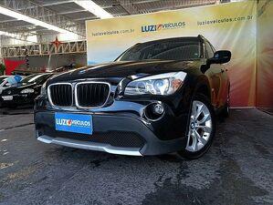 BMW X1 2.0 18I Top Preto 2012
