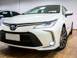 Toyota Corolla 1.8 Altis Premium Hybrid Branco 2021