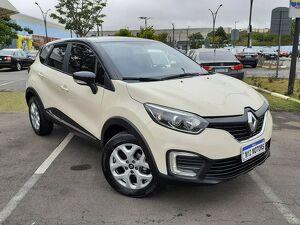 Renault Captur 1.6 Life Bege 2019