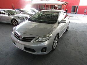 Toyota Corolla 2.0 GLI Prata 2012