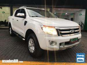 FORD RANGER 2.5 LIMITED Branco 2015