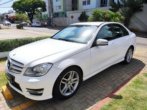 MERCEDES-BENZ C 180 1.6 CGI TURBO Branco 2014