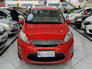 Ford Fiesta 1.6 SE 16V Vermelho 2013