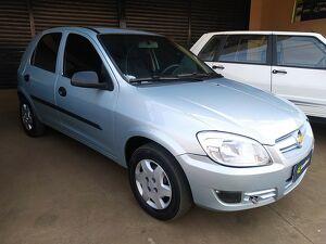 Chevrolet Celta 1.0 Life 8V Prata 2008