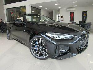 BMW 430i 2.0 Cabrio M Sport Preto 2021