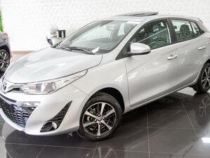 Toyota Yaris 1.5 XLS Connect Prata 2022