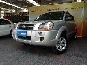Hyundai Tucson 1.6 GL Prata 2011