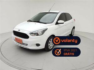 Ford KA 1.5 SE 16V Branco 2018