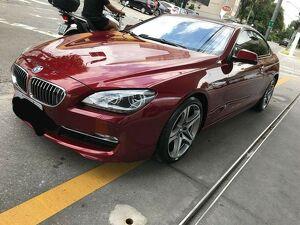 BMW 650i 4.8 V8 Vermelho 2012