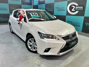 LEXUS CT200H 1.8 LUXURY HÍBRIDO Branco 2016