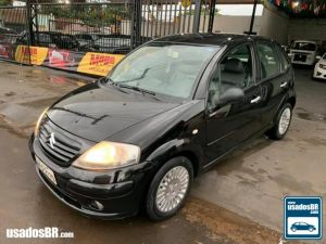 CITROËN C3 1.6 EXCLUSIVE Preto 2005
