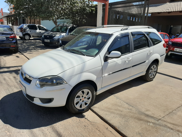 FIAT PALIO WEEKEND 1.4 ATTRACTIVE Branco 2016
