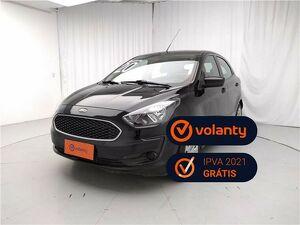 Ford KA 1.0 Tivct SE 12V Preto 2020