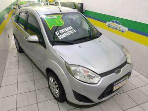 Ford Fiesta 1.6 8V Prata 2011