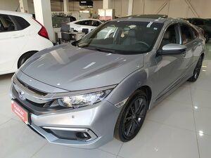 Honda Civic 1.5 Touring Turbo Prata 2021