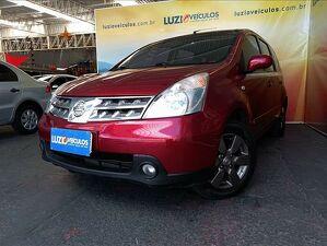 Nissan Livina 1.8 SL Vermelho 2010