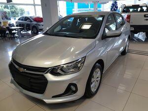 Chevrolet Onix 1.0 LT Turbo Prata 2021