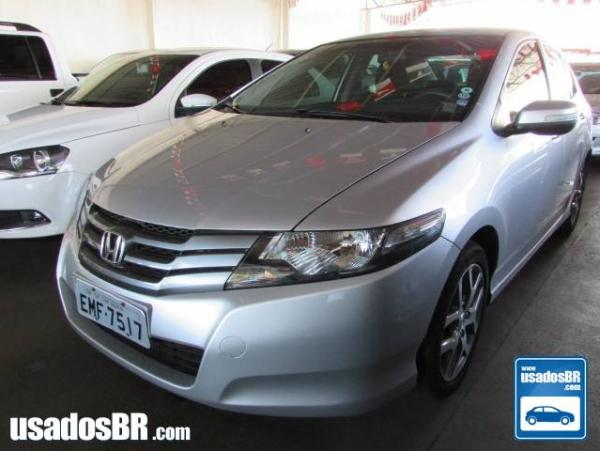 HONDA CITY 1.5 EXL 16V FLEX 4P MANUAL Prata 2010
