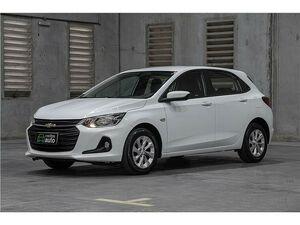 Chevrolet Onix 1.0 LT Turbo Branco 2020